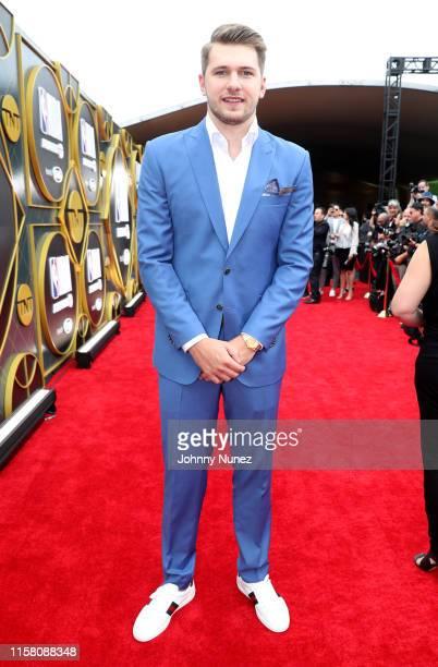 Luka Dončić attends the 2019 NBA Awards presented by Kia on TNT at Barker Hangar on June 24, 2019 in Santa Monica, California.