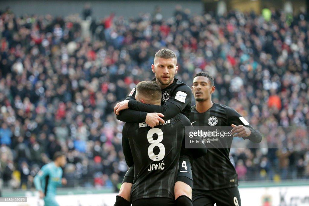 Eintracht Frankfurt v SC Freiburg - Bundesliga : News Photo