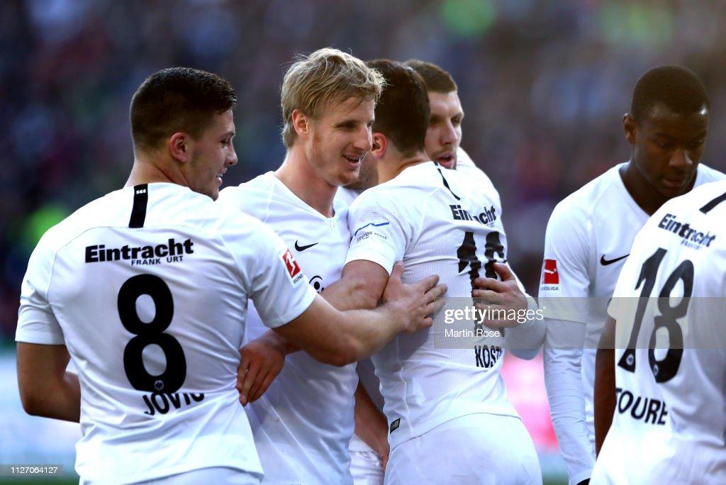 Hannover 96 v Eintracht Frankfurt - Bundesliga : News Photo