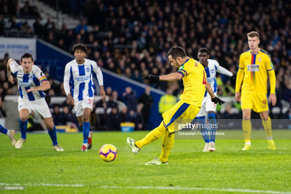 Brighton & Hove Albion v Crystal Palace - Premier League : News Photo