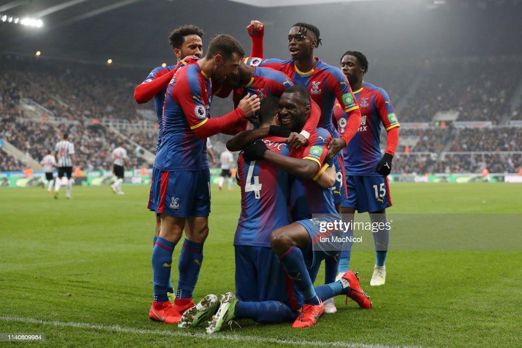 GBR: Newcastle United v Crystal Palace - Premier League