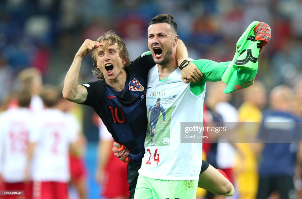 Croatia v Denmark: Round of 16 - 2018 FIFA World Cup Russia : ニュース写真