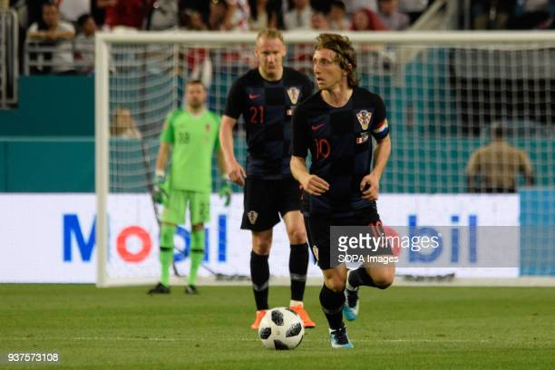 Luka Modric did not live a good game as he thought the plans in Miami were blocked by the team from Peru who from the beginning of the game was...