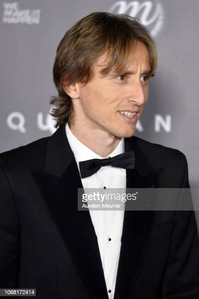 Luka Modric of Croatia and Real Madrid attends the Ballon D'Or ceremony at Le Grand Palais on December 3 2018 in Paris France