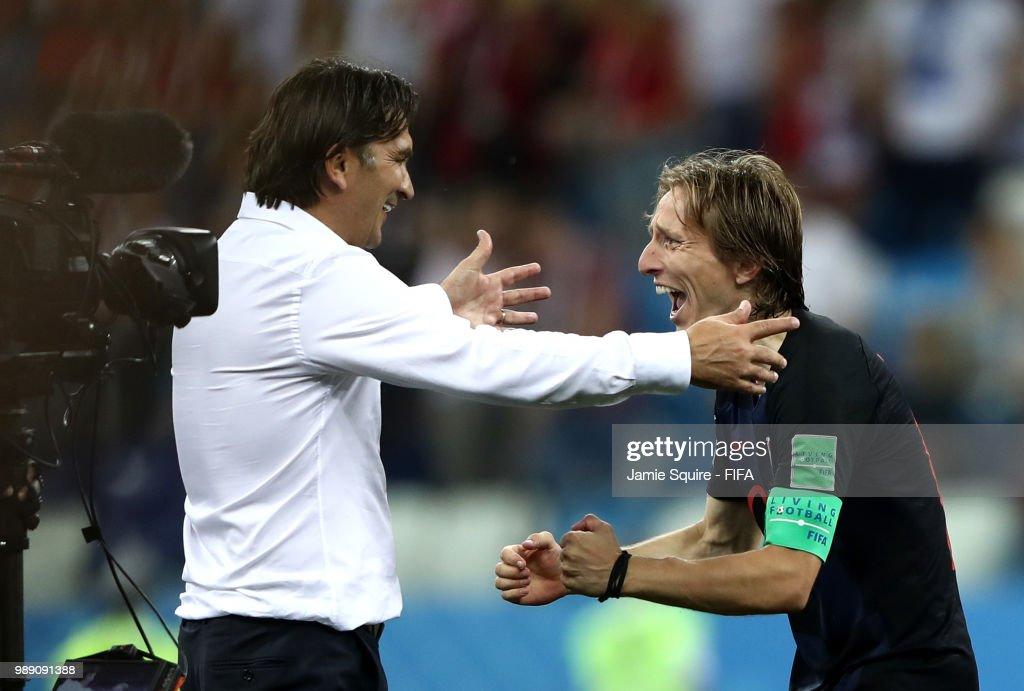 Croatia v Denmark: Round of 16 - 2018 FIFA World Cup Russia : News Photo