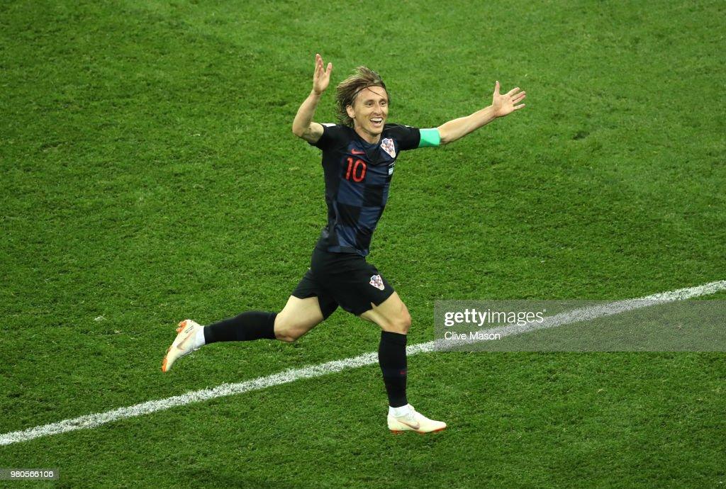 Croatia 3 - 0 Argentina - FIFA World Cup Russia 2018