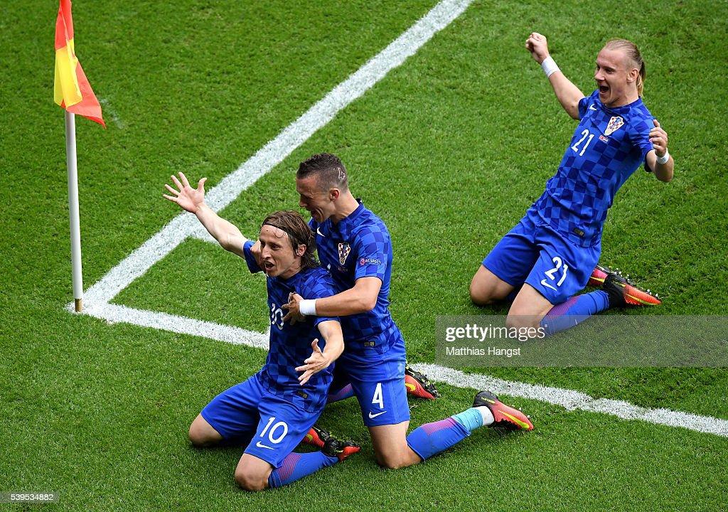Turkey v Croatia - Group D: UEFA Euro 2016 : News Photo
