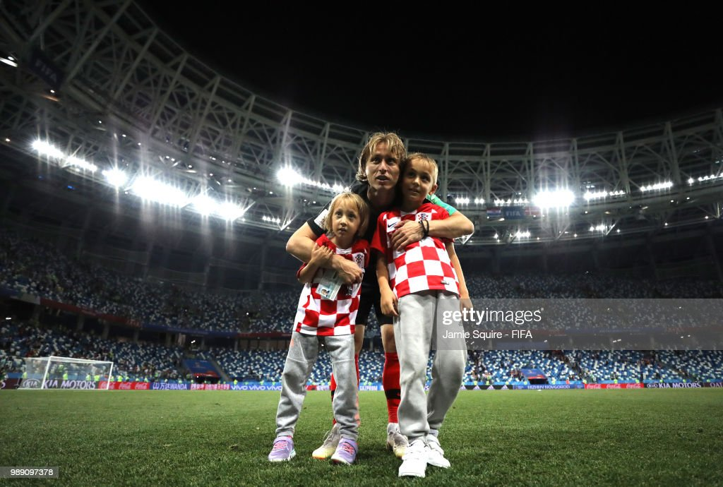 600d77ef21b1 Croatia v Denmark: Round of 16 - 2018 FIFA World Cup Russia : News Photo