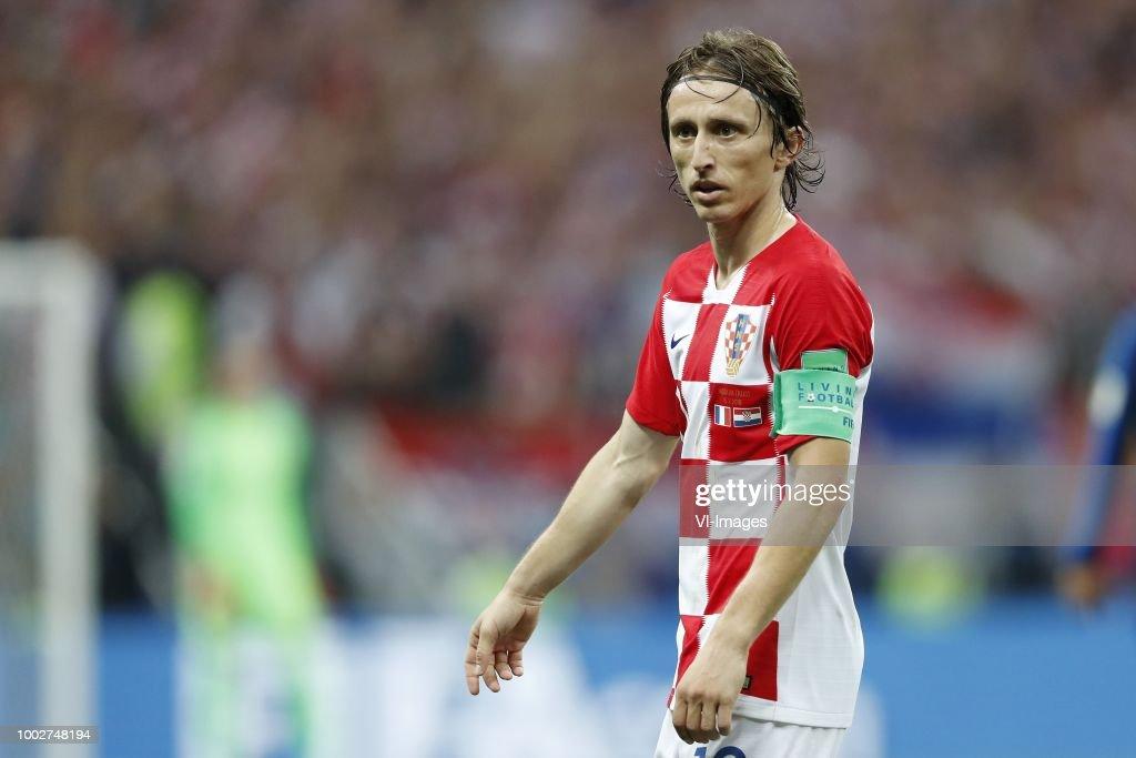 FIFA World Cup 2018 Russia'France v Croatia' : News Photo