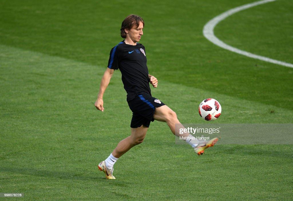 Croatia Training Session - 2018 FIFA World Cup Russia : News Photo