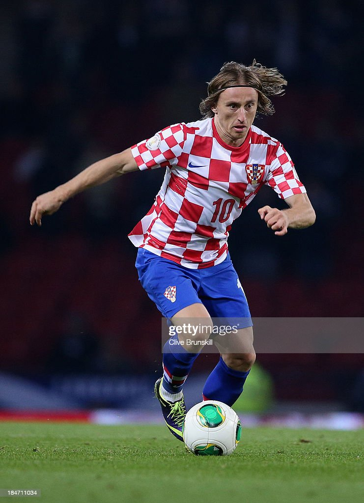 Scotland v Croatia - FIFA 2014 World Cup Qualifier : News Photo