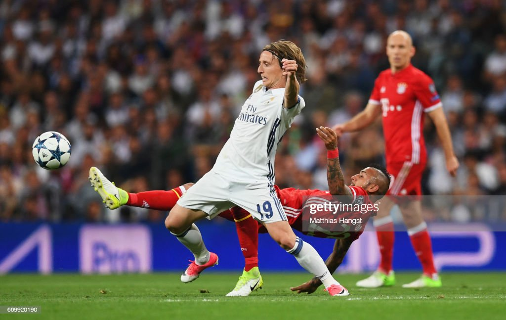 Real Madrid CF v FC Bayern Muenchen - UEFA Champions League Quarter Final: Second Leg : News Photo