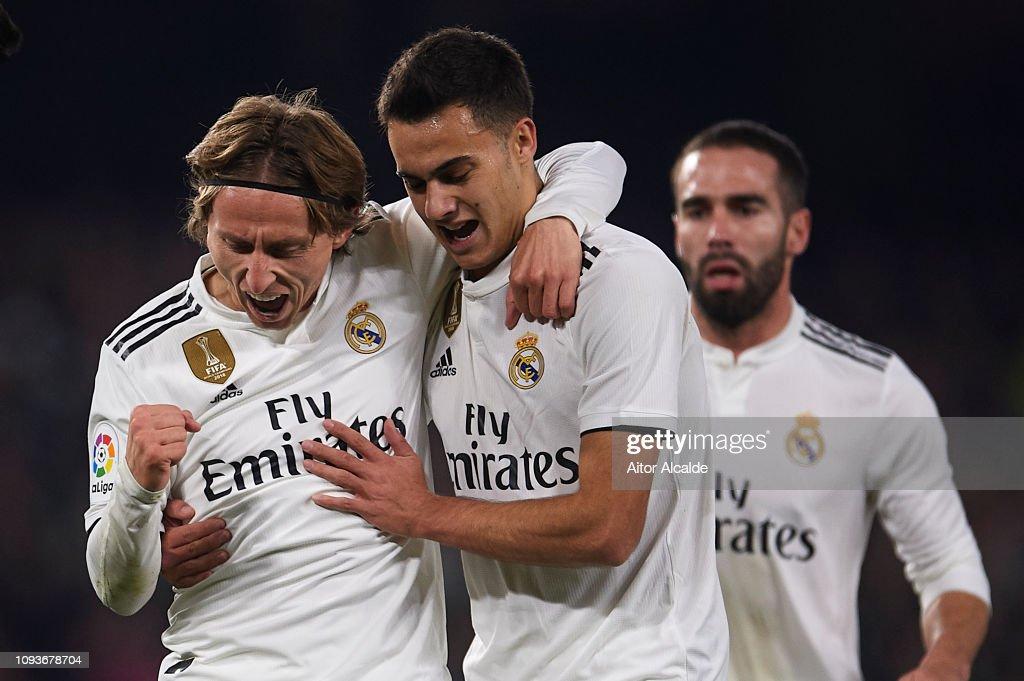 ESP: Real Betis Balompie v Real Madrid CF - La Liga