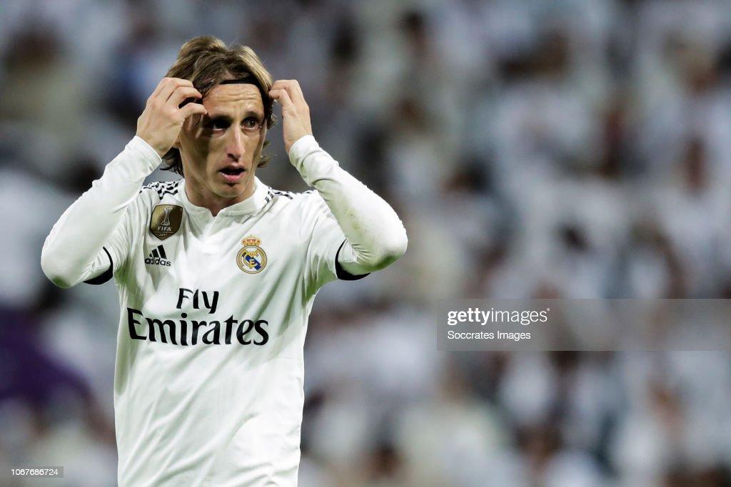Real Madrid v Valencia - La Liga Santander : News Photo