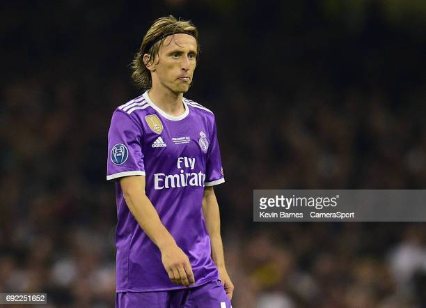 Luka Modric of Real Madrid during the UEFA Champions League Final match between Juventus and Real Madrid at National Stadium of Wales on June 3 2017...