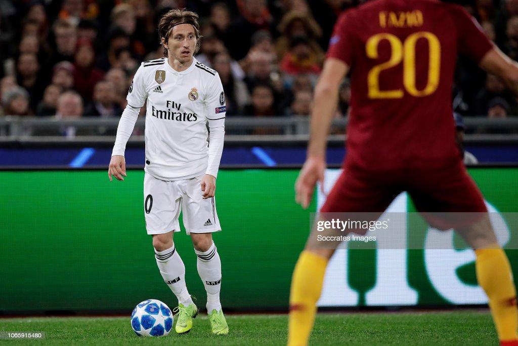 AS Roma v Real Madrid - UEFA Champions League : News Photo