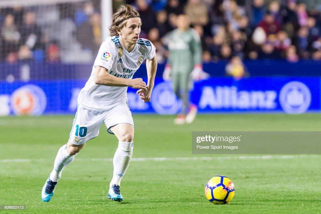 La Liga 2017-18 - Levante UD vs Real Madrid : ニュース写真