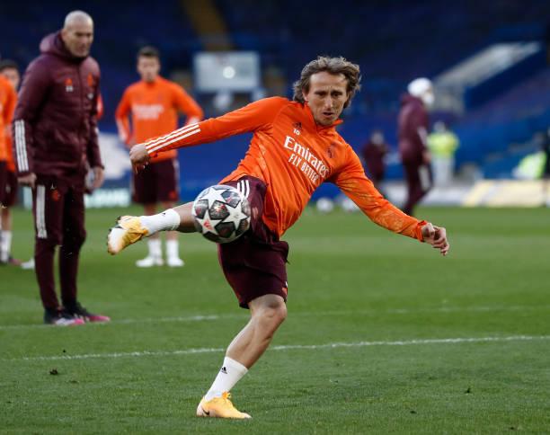 GBR: Real Madrid Training Session