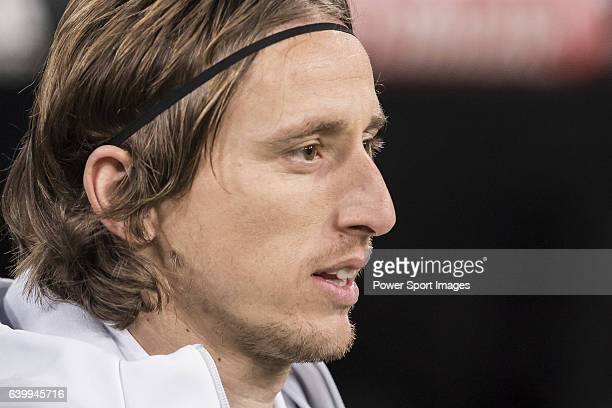 Luka Modric of Real Madrid poses for a photo prior to the Copa del Rey 201617 Quarterfinal match between Real Madrid and Celta de Vigo at the...