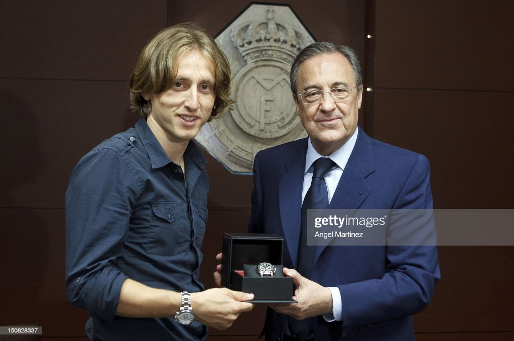 Luka Modric Signs For Real Madrid