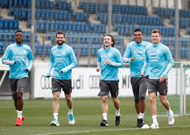 ESP: Real Madrid Training Session