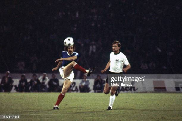 Luka Peruzovic of Yugoslavia during the European Championship between West Germany and Yugoslavia in Stadium Crvena Zvezda Belgrad Yugoslavia on 17th...