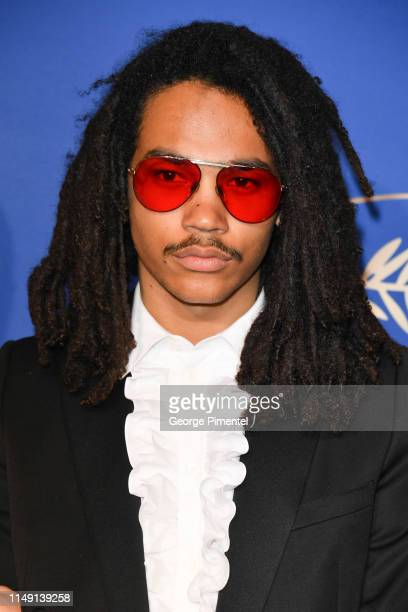 Luka Sabbat arriving at the Gala Dinner during the 72nd annual Cannes Film Festival on May 14 2019 in Cannes France