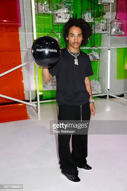 Luka Sabbat attends Aldo Collaborates With Refinery 29 On '29 Rooms' on September 5 2018 in New York City