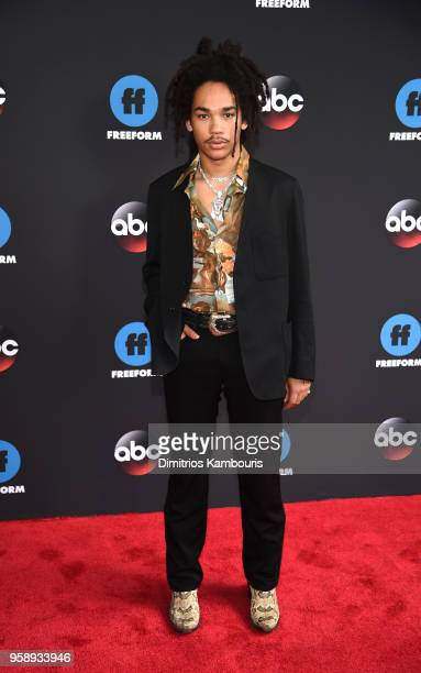 Luka Sabbat attends during 2018 Disney ABC Freeform Upfront at Tavern On The Green on May 15 2018 in New York City