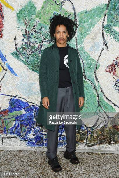 Luka Sabbat attends Louis Vuitton 2019 Cruise Collection at Fondation Maeght on May 28 2018 in SaintPaulDeVence France