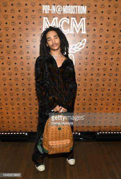 Luka Sabbat attends PopIn@Nordstrom MCM at Chateau Marmont on October 3 2018 in Los Angeles California