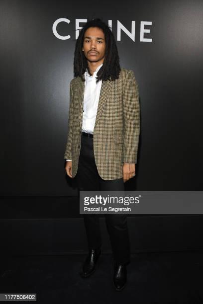 Luka Sabbat attends the Celine Womenswear Spring/Summer 2020 show as part of Paris Fashion Week on September 27 2019 in Paris France