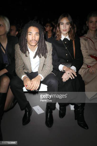 Luka Sabbat attends the Celine Womenswear Spring/Summer 2020 show as part of Paris Fashion Week on September 27, 2019 in Paris, France.