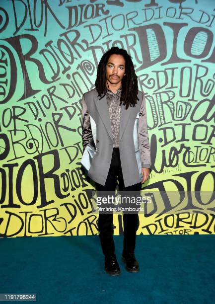 Luka Sabbat attends the Dior Men's Fall 2020 Runway Show on December 03 2019 in Miami Florida