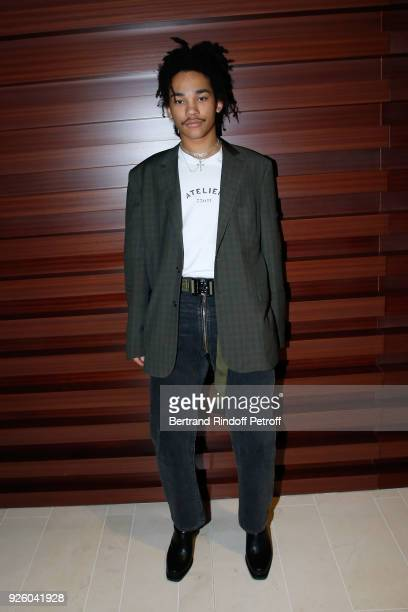 Luka Sabbat attends the LVMH Prize 2018 Designers Presentation on March 1 2018 in Paris France