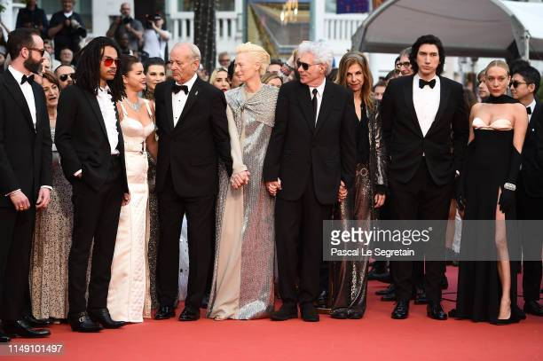Luka Sabbat Selena Gomez Bill Murray Tilda Swinton Director Jim Jarmusch Sara Driver Adam Driver and Chloe Sevigny attend the opening ceremony and...