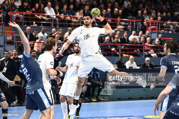 Luka Stepancic of PSG during the Lidl StarLigue match between Creteil and Paris Saint Germain on March 1 2017 in Creteil France