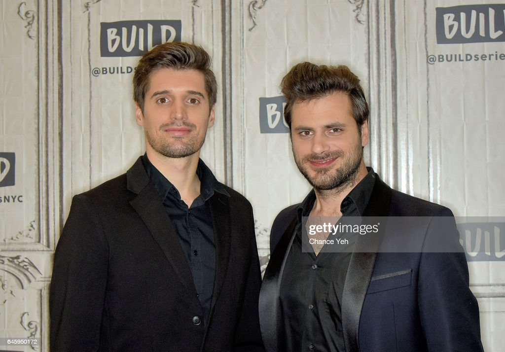 Luka Sulic and Stjepan Hauser of 2Cellos attend Build series