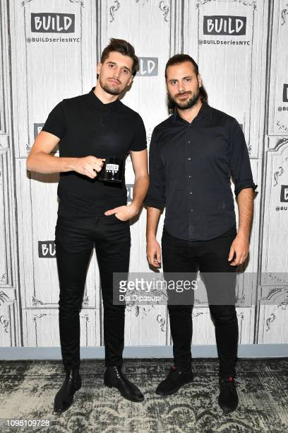 Luka Šulić and Stjepan Hauser of 2Cellos visit Build to discuss Let There Be Cello at Build Studio on January 16 2019 in New York City