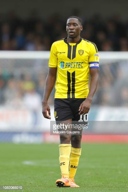Lukas Akins of Burton Albion during the Sky Bet League One match between Burton Albion and Bristol Rovers at Pirelli Stadium on October 13 2018 in...