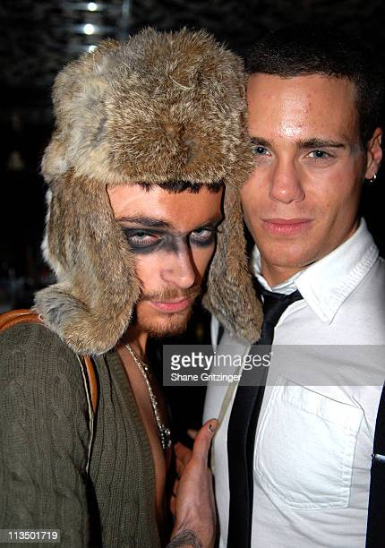 Lukas and Gage Houston during The Launch Of La Dolce Eve Kitten Doll Hosted By Amanda Lepore February 20 2007 at Room Service in New York City New...
