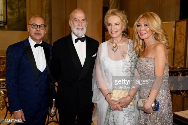 Lukas Barwinski-Brown, HRH Prince Michael of Kent, HRH Princess Michael of Kent and Elizabeth Segerstrom attend Pianists Lang Lang & Gina Alice...