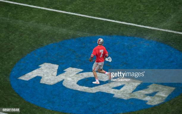 Lukas Buckley of the Ohio State Buckeyes during the Division I Men's Lacrosse Championship between the Maryland Terrapins and Ohio State Buckeyes...