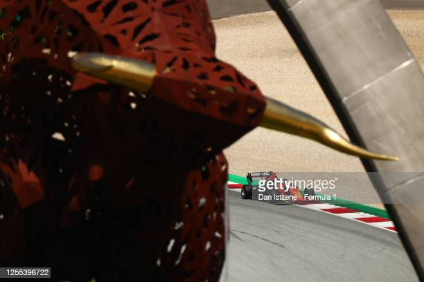 Lukas Dunner of Austria and MP Motorsport drives during qualifying for the Formula 3 Championship at Red Bull Ring on July 10 2020 in Spielberg...