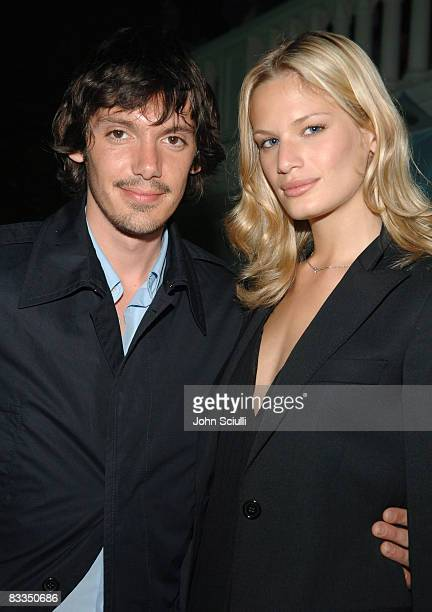 Lukas Haas and Vicky Andren