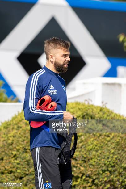 Lukas Hinterseer of Hamburger SV during the training session of Hamburger SV on May 16 2020 in Herzogenaurach Germany