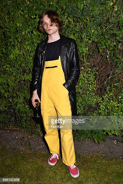 Lukas Ionesco attends 'Kenzo World' Kenzo New Perfume Launch and Spike Jonze Clip screening Party as part of Paris Fashion Week Haute Couture...