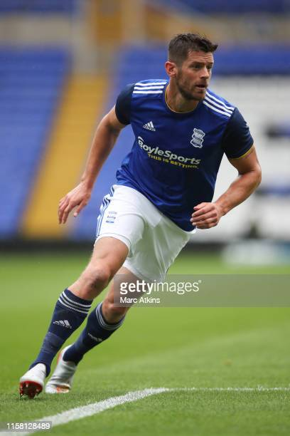 Lukas Jutkiewicz of Birmingham City during the Pre-Season Friendly match between Birmingham and Brighton and Hove Albion at St Andrews on July 27,...