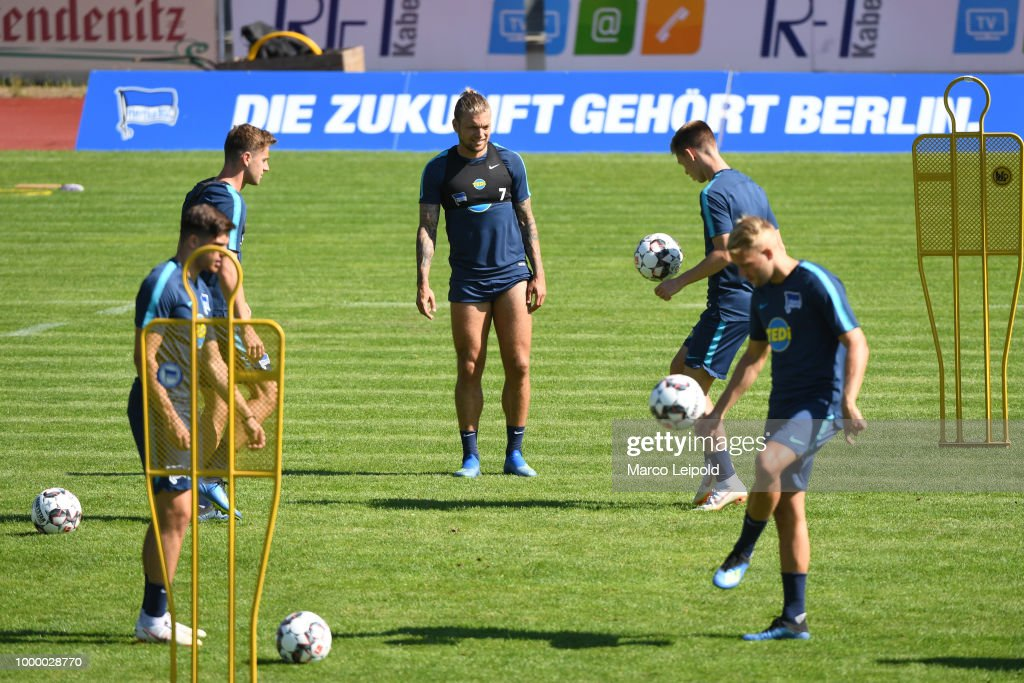 Hertha BSC - training camp