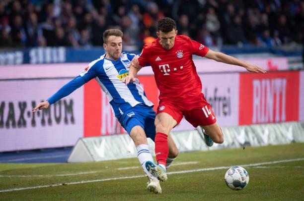 DEU: Hertha BSC v FC Bayern Muenchen - Bundesliga